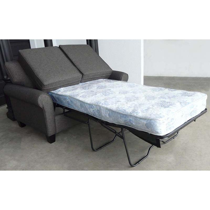 single sofa bed. Single Sofabed Pulls Out To Total 90\u2033 From Back Of The Sofa Front Bed. Bed